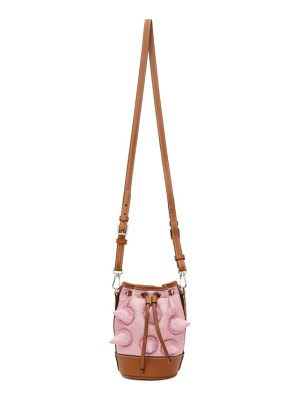 Moncler Genius 1 moncler jw anderson pink down critter bag