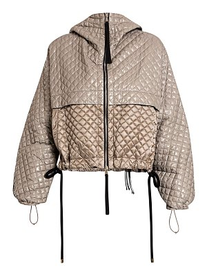 Moncler Genius 2 moncler 1952 citrine nylon quilted puffer jacket
