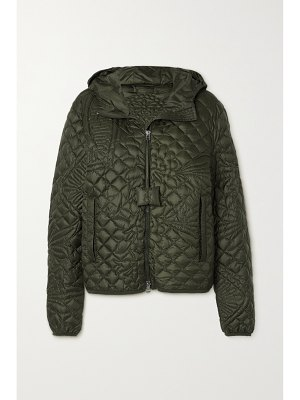 Moncler Genius + jw anderson hooded quilted down jacket