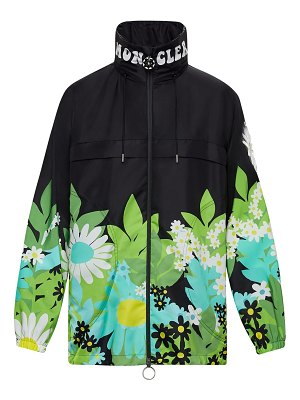 Moncler Genius Richard quinn printed nylon windbreaker