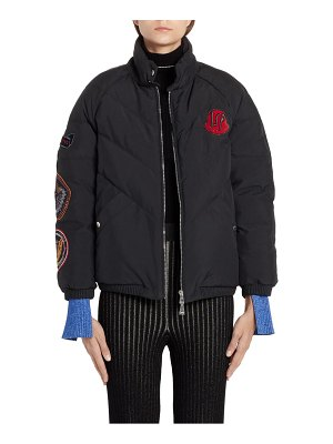Moncler Genius x 2 1952 minho patch embellished down puffer coat