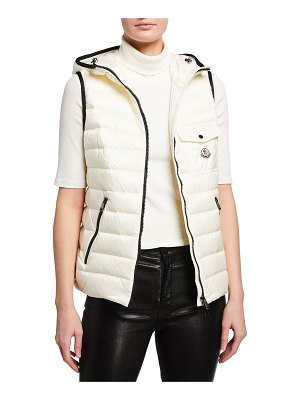 Moncler Glyco Hooded Puffer Vest