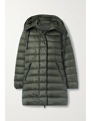 Moncler gnosia hooded quilted shell down jacket