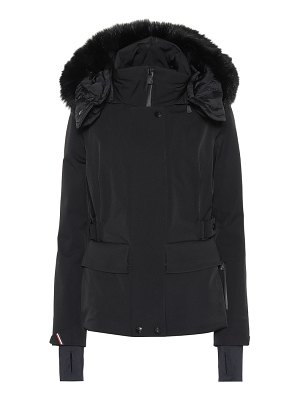 Moncler Grenoble fur-trimmed down jacket