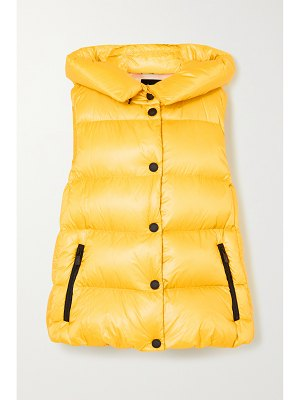 Moncler Grenoble resy hooded quilted shell down vest