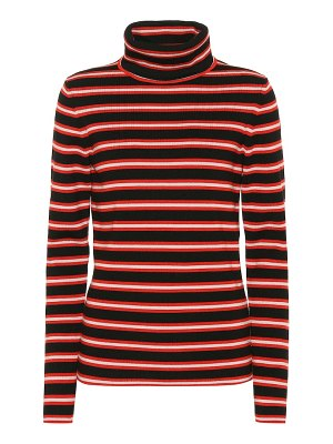 Moncler Grenoble striped wool-blend sweater