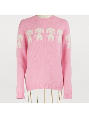 Moncler Grenoble Wool and cashmere sweater