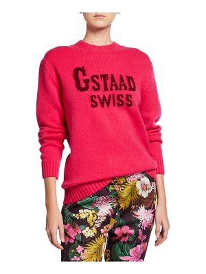 Moncler Gstaad Swiss Pullover Sweater