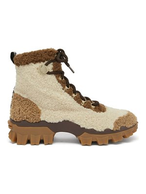 Moncler helis faux-shearling hiking boots
