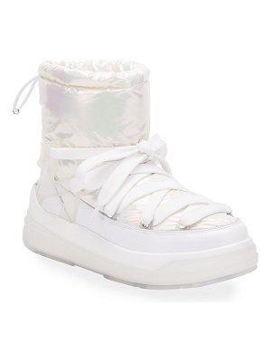 Moncler Insolux Down Iridescent Snow Boots