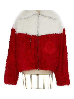 Moncler Julia wool bomber jacket
