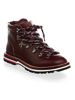 Moncler leather ankle hiking boots