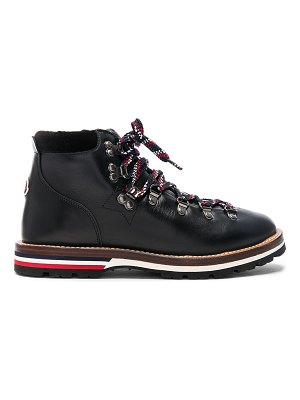 Moncler leather blanche boots