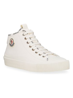 Moncler Lissex Mid-Top Logo Sneakers