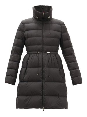 Moncler malban drawcord-waist quilted down coat