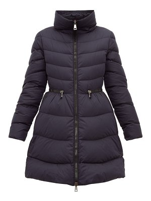 Moncler mirielon fitted waist down padded parka