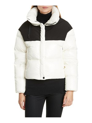 Moncler nil colorblock quilted down puffer jacket