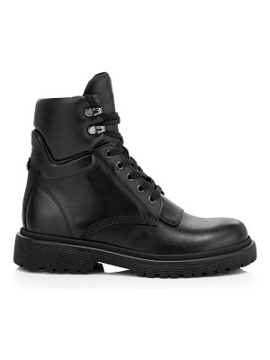 Moncler patty leather hiking boots