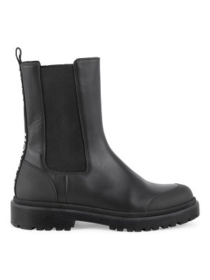 Moncler patty lug-sole leather chelsea boots