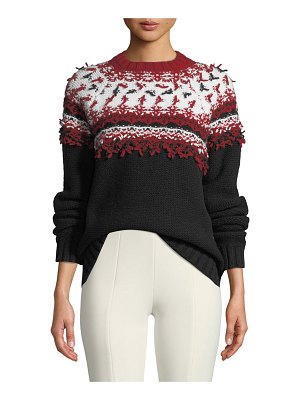 Moncler Pullover Wool Sweater