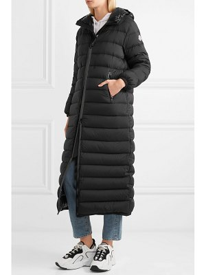 Moncler quilted shell down coat