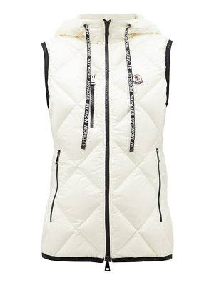 Moncler quilted soft-shell gilet