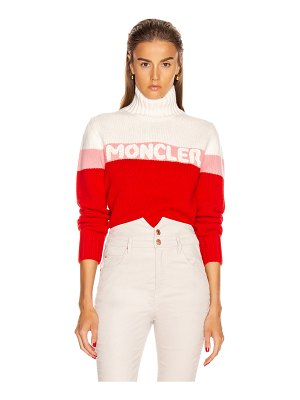Moncler tricot cyclist sweater