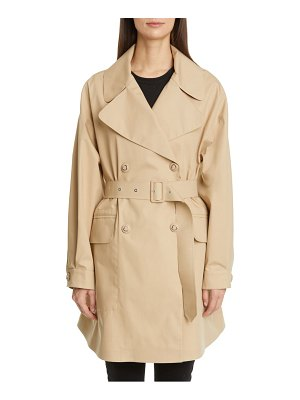 Moncler waterproof trench coat