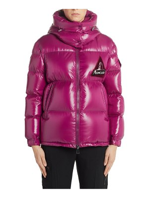 Moncler wilson hooded quilted down puffer jacket