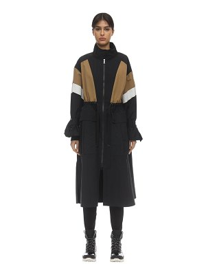 Moncler Zinzolin nylon trench coat