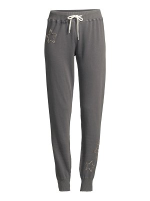 MONROW cotton star sweatpants