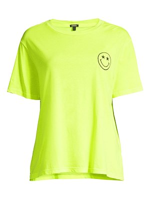 MONROW neon embroidery t-shirt