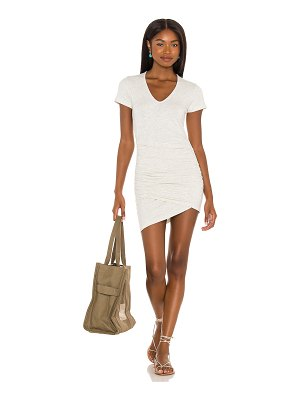 MONROW supersoft front wrap dress