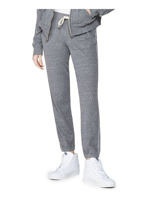 MONROW thermal drawstring sweatpants