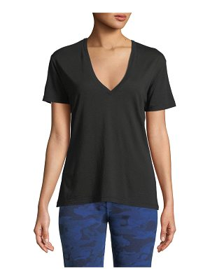MONROW V-Neck Short-Sleeve Relaxed Tee
