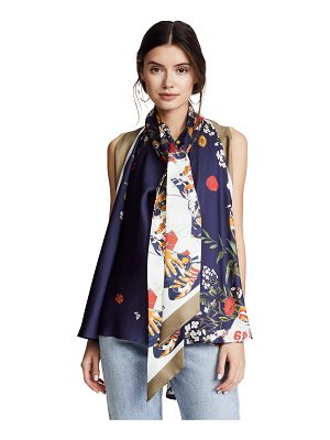 Monse sleeveless football floral blouse