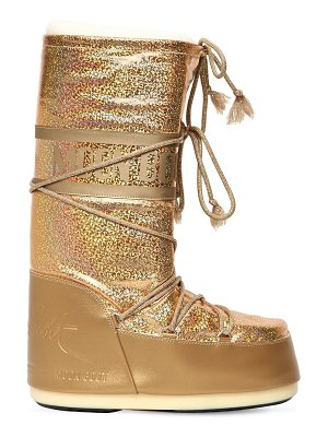 MOON BOOT BY JEREMY SCOTT Glittered snow boots