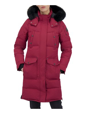 Moose Knuckles Causapcal Parka with Fox Fur