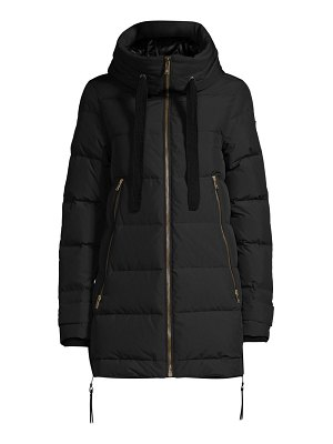 Moose Knuckles fly denstiy val marie 2.0 hooded down jacket