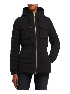 Moose Knuckles Kedgwick 2 Fitted Down Jacket