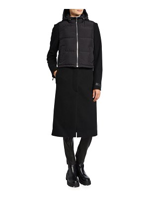 Moose Knuckles Ranleigh Mac 3-in-1 Long Vested Coat