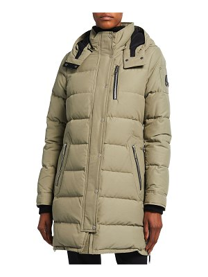 Moose Knuckles Trinity Water-Repellent Padded Parka