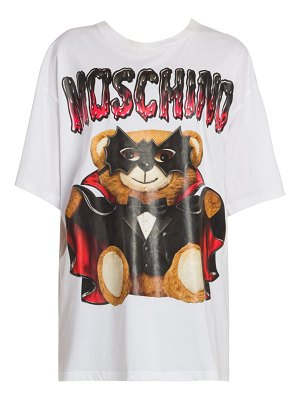 Moschino bat bear graphic t-shirt