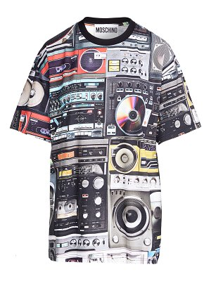 Moschino cd tech shirt