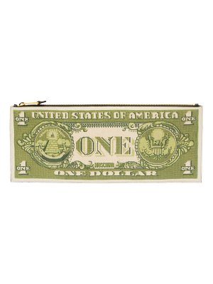 Moschino dollar clutch