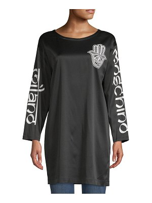 Moschino Graphic Printed Oversized Top