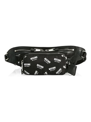 Moschino allover logo belt bag
