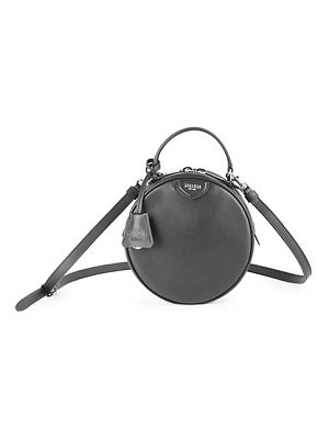 Moschino round leather shoulder bag