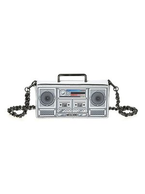 Moschino small boombox clutch