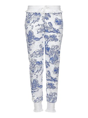 Moschino toile print trousers